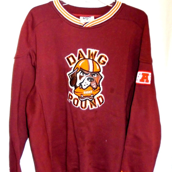 Lee Other - 🏈 Cleveland Browns Dawg Pound Vintage Sweatshirt 4841f4ff8